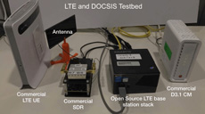 DOCSIS LTE latency demo 230