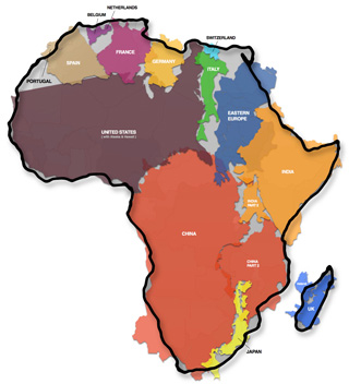 Kai-Krauses-remarkable-true size of africa430